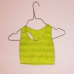 Neon Green xs sports bra